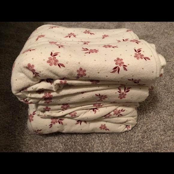 Martha Stewart Bedding Martha Stewart Cotton Flannel Sheet Set Poshmark